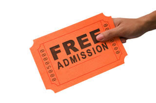 using scarcity with free events advance ticket sales outdoor